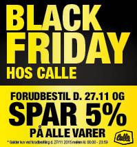 Calle Black Friday!