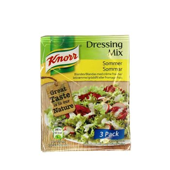 knorr dressing mix sommer