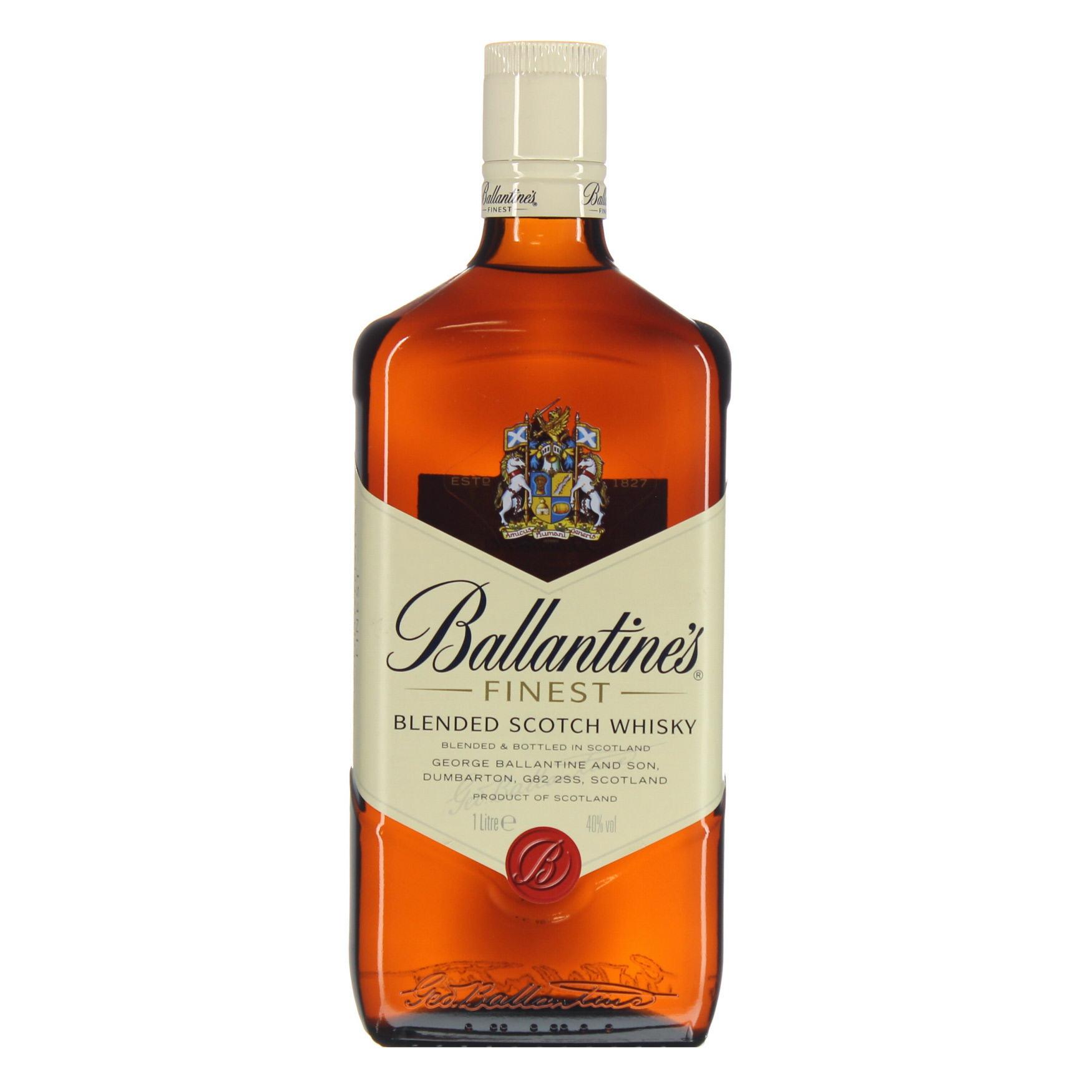 Højmoderne Ballantines Finest whisky - Grænsehandel til billige priser CK-49