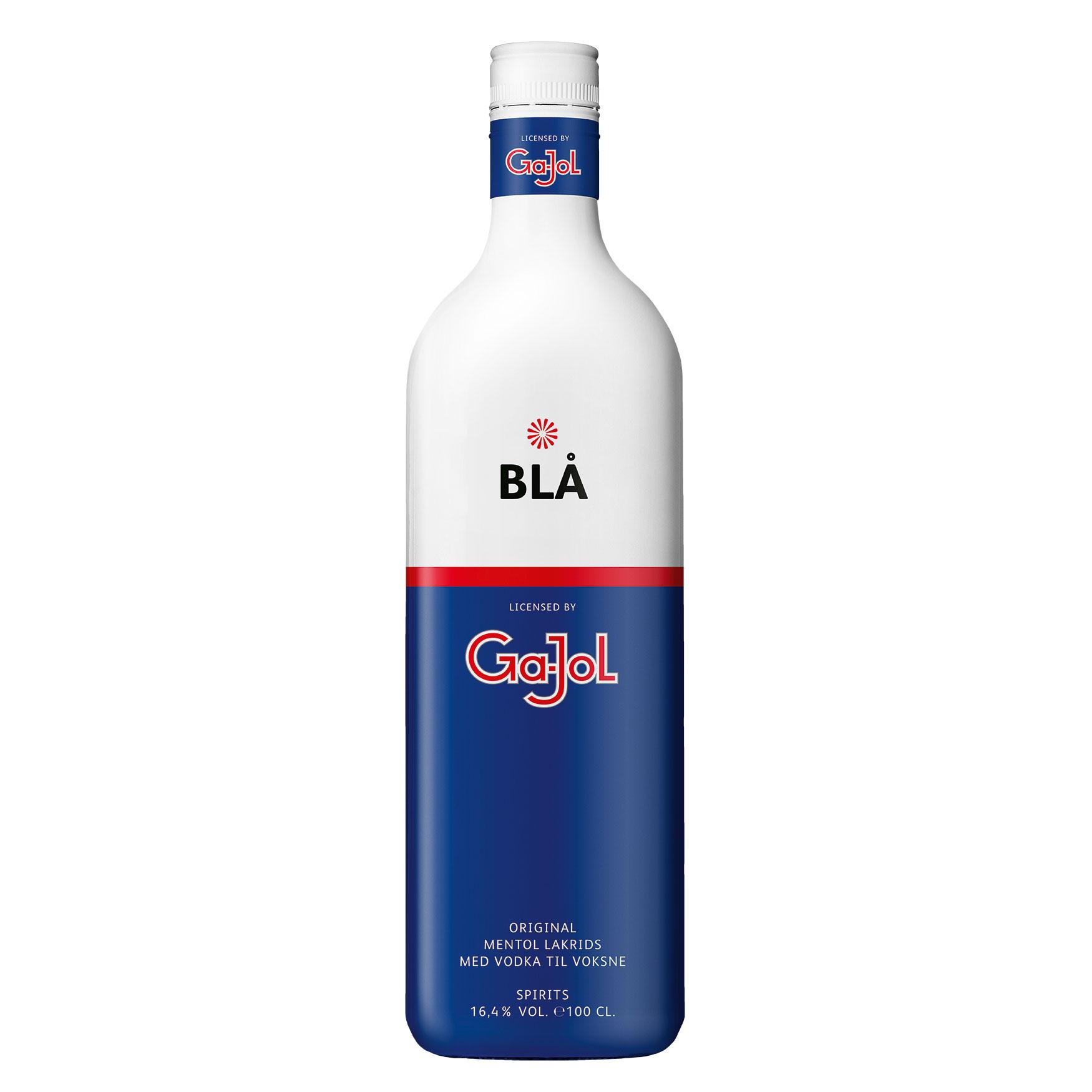 Afholte GaJol Blå 16,4% 1 l. - Billige Gajol shots - Køb her GU-29